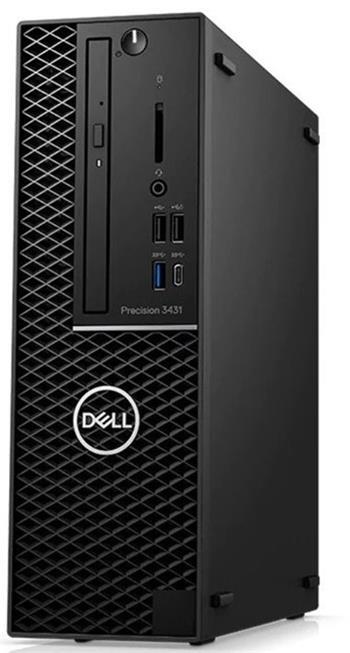 Dell Precision 3431 SF / i7-9700 / 16 / 256 / NVD620 / DVD / W10P / 2T45M