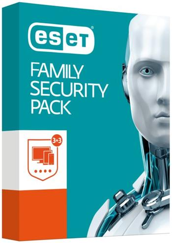 ESET Family Security Pack, 3lic na 1 rok, pro domácnost