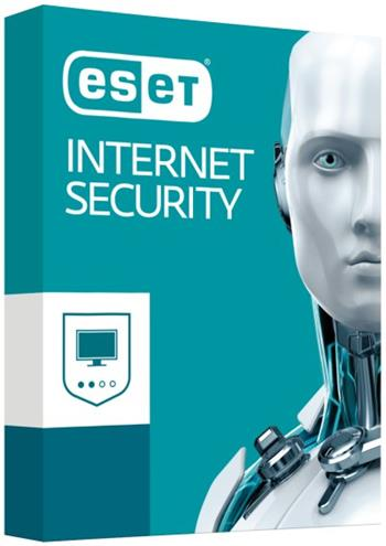 ESET Internet Security 10, 2lic na 2 roky, el.licence