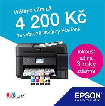 Kupte Epson a získejte zpět až 4 200 Kč
