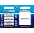 Panasonic Eneloop AA, akumulátory blistr 4 ks, 2100 cyklů + case