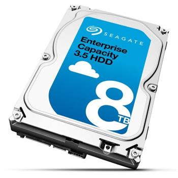 Seagate Enterprise Capacity 8TB, 3.5'',HDD, 7200RPM, 256MB cache, SAS