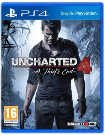 Uncharted 4: A Thief's End CZ PS4