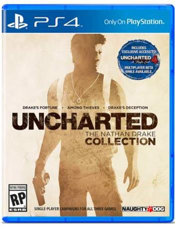 Uncharted The Nathan Drake Collection CZ PS4
